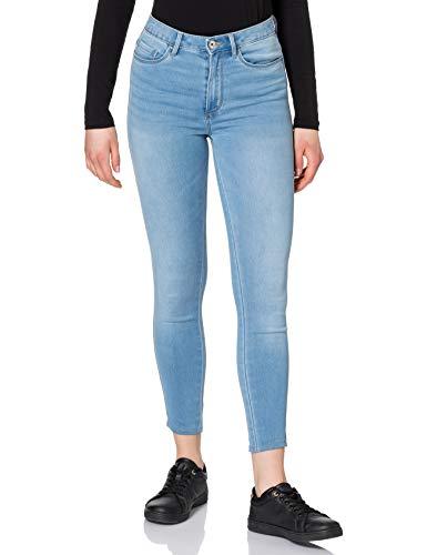 ONLY Petite Damen ONLROYAL Life HW SK BJ13333 Petit Jeans, Light Blue Denim, L