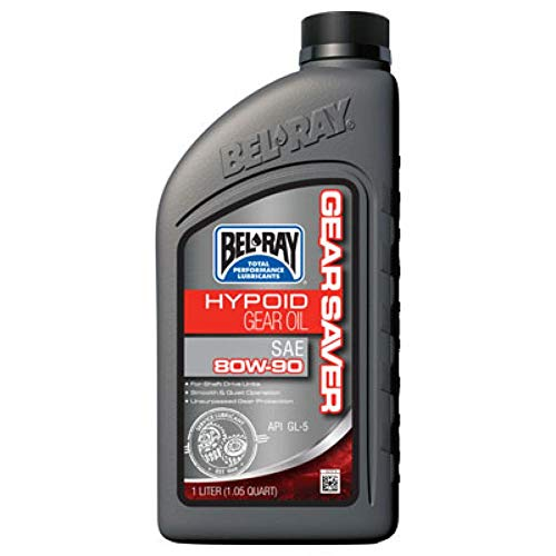 Bel-ray 99230-b1lw gear saver hypoid gear oil 80w -90 liter (99230-B1LW) (1)
