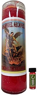Victoria Rey St. Miguel Archangel Dressed Scented Candle - Veladora Preparada San Miguel Arcangel