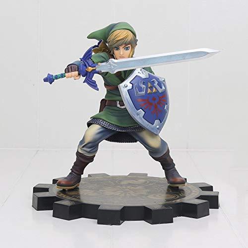 XINFAN Figura de Zelda Zelda Skyward Sword Pvc1 / 7 Anime Game Toy Zelda Link Figurine Modelo de Juguete