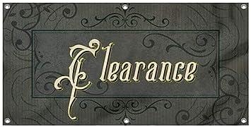 CGSignLab Victorian Frame Heavy-Duty Outdoor Vinyl Banner Clearance 8x4