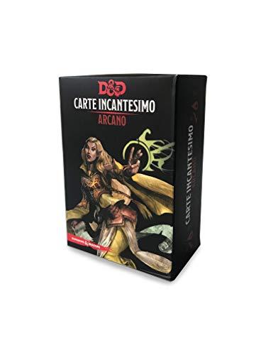 Asmodee - Dungeons & Dragons 5a Edizione: Carte Incantesimo Arcano, Mazzo di Carte, Gioco di Ruolo, 4005