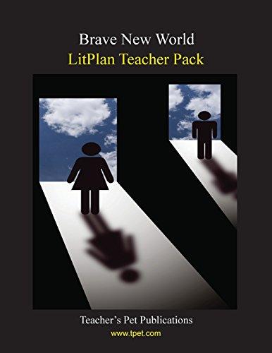 Brave New World LitPlan - A Novel Unit, Teacher Guide With Daily Lesson Plans