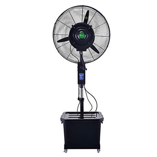 Ventilador de Agua en Spray Ventilador de pie Ventilador de Piso Ventilador nebulizador Ventilador de Torre oscilante   3 Modos de Funcionamiento 40L   Cabezal de Ventilador pivotante par