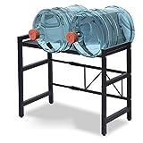 Shelf Soporte De Microondas Ajustable De 2 Niveles, Horno De Tostadora Expandible (46-70 Cm), Organizador De Encimera De Cocina con 3 Ganchos, Negro