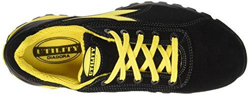 Diadora Glove II Text S1P HRO Scarpe da lavoro, Unisex adulto, SRA, Nero,