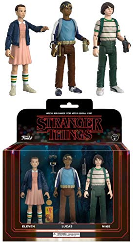 Funko Action Figure: Stranger Things 3Pk Pack 1 Collectible Action Figures