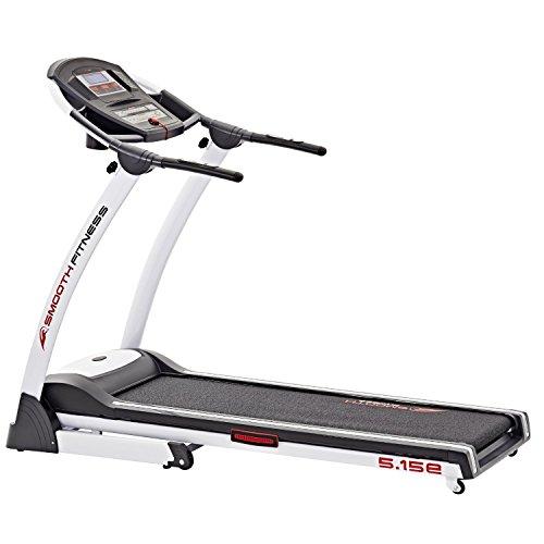 Smooth Fitness Laufband 5.15-E, Weiß