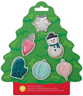Wilton Christmas Tree Mini Cookie Cutter Set product image