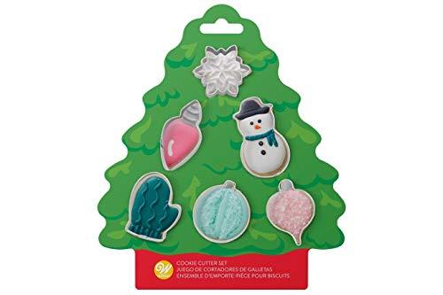 Wilton Christmas Tree Mini Cookie Cutter Set
