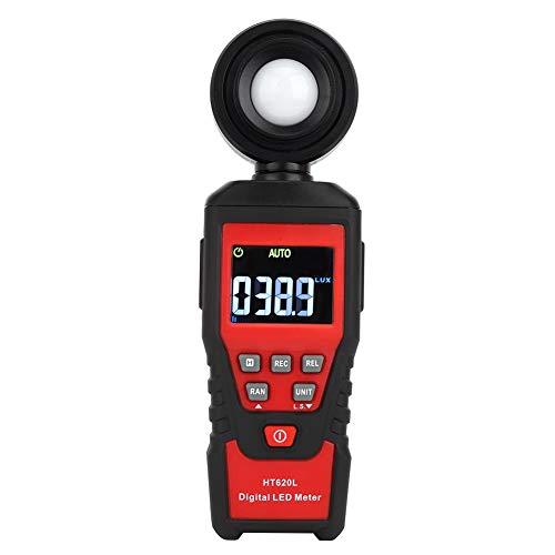 Luxómetro Portátil, Medidor de Luz, Digital de Alta Precisión HT620L, Instrumento de...