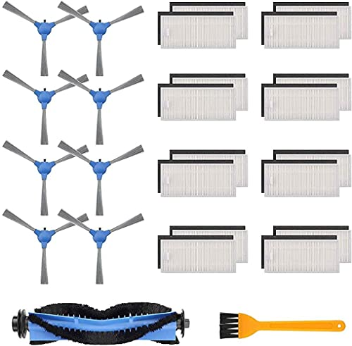 LYDPT Accesorios de aspiradora Kit de Piezas de Repuesto para ROBOVAC 11S, ROBOVAC 30, ROBOVAC 15C ROBOVAC 35C Accesorio de aspiradora robótica