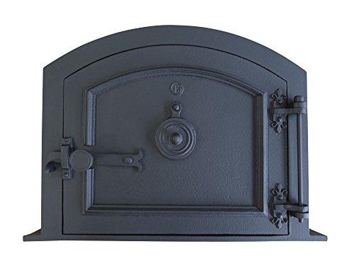 Fonderie Lacoste 0359 Porte de Four, Noir, 56,5 x 9 x 41 cm