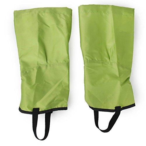 TFXWERWS Taille M Vert simple randonnée d'escalade étanche Neige Sable jambe Guêtre Chaussures couvertures Accessoires