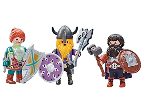 Playmobil 6588: 3 Chevaliers Nains   Emballage