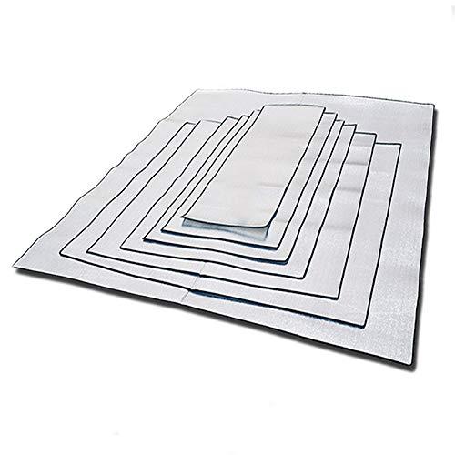 DFYUTJ Wasserdicht Ultralight Isomatte Picknick-Decke Strand Matratze Schlafenauflage Aluminium Foil-Schaum-Matten im Freienzelt-Fußabdruck picknickdecke (Color : 200X100X0.25)