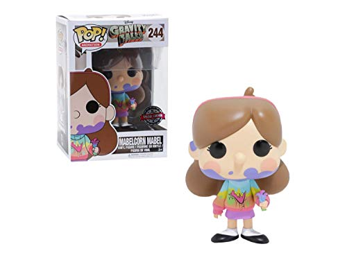 Funko Pop Animation Disney Gravity Falls Mabelcorn Mabel 244 Hot Topic Exclusive