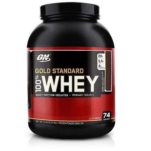 Optimum Nutrition 100% Whey Gold Standard, 2270 g (Double Rich Chocolate)