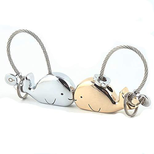 Yangliu - Portachiavi in metallo con ciondolo a forma di borsetta per telefoni cellulari e chiavi, idea regalo per coppie (vari colori)
