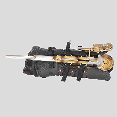 ZHAOHUIYING Assassins Creed Armband Handschuhe Handgelenk-Sleeve Passende Hülsen Pfeil Schwert Cartoon Collection 43 cm