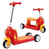 XZ&PENG Children's Scooter, Baby Slide, Three-Wheeled, Scooter, Child, Scooter, Walker Safety, Protection, Fashion