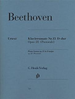 Piano Sonata no. 15 in D op. 28 - Piano - Revised edition - (HN 725)