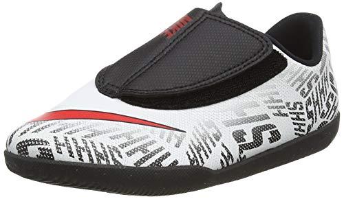 Nike Unisex-Kinder Vapor 12 Club Ps (V) NIC Fußballschuhe, White Challenge Red Black, 30 EU