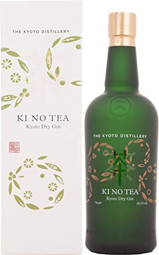 Kinobi Ki No Tea Kyoto Dry Gin mit Geschenkverpackung (1 x 0.7 l)