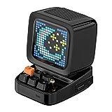 Divoom DITOO レトロPCモニターデザイン Bluetoothスピーカー PIXELART ドット絵 (ブラック)