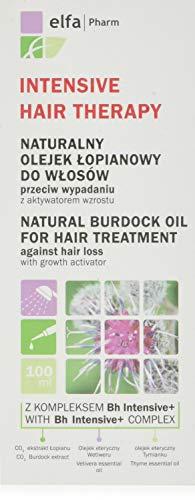 Elfa Pharm Tratamiento intensivo para el cabello, aceite natural de bardana para tratamiento para el cabello, 100ml