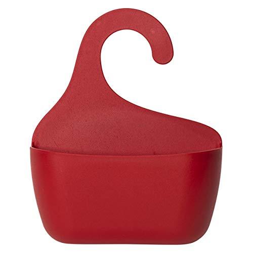 Cesta de ducha con gancho para colgar en la ducha, estantería de baño, utensilio, estante colgante tamaño L