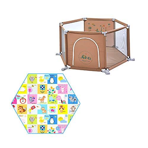 XXHDEE babybescherming speelhuisje voor kinderen in de buurt van de baby speelruimte voor binnenruimtes, banden voor kleine kinderen, veiligheidshek voor kinderen