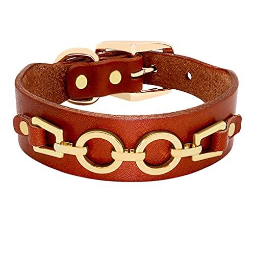 Collar de Perro de Cuero Duradero Bling Rhinestone Collar de Perro de Metal Fresco para Perros pequeños medianos-03, M