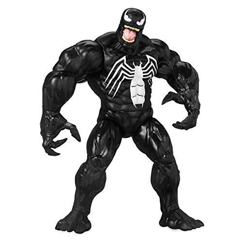 Disney Personaggio SNODABILE PARLANTE Venom Spiderman Lingua Inglese
