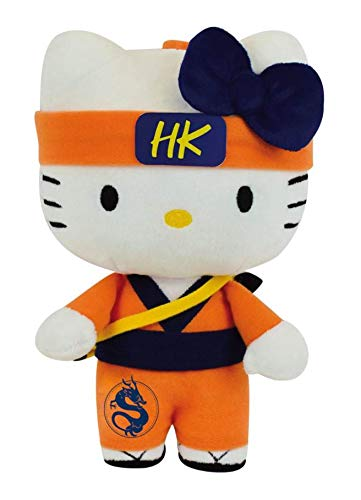 CIJEP Hello Kitty Peluche samourai 25cm Noir