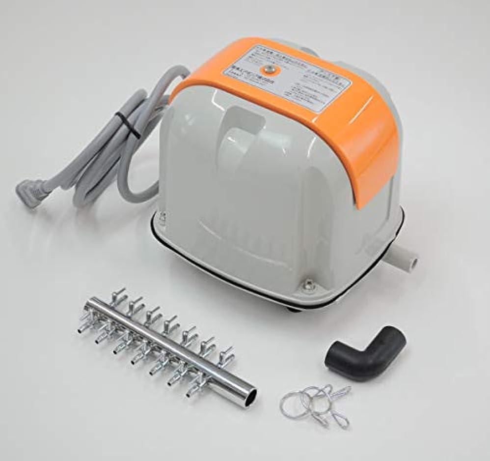 アクティビティ無条件最小化するAP-80H(14方分岐装置付き)安永エアポンプ 浄化槽 エアーポンプ ブロア