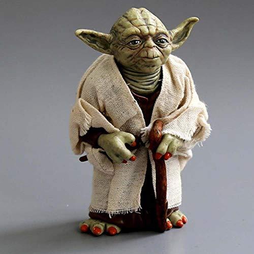 Q Posket Master Yoda 13cm Action Figure Star Wars Modelo de Estatua Colección de regalos para niños Master Yoda