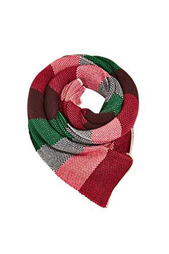 ESPRIT Accessoires Damen 100EA1Q304 Mode-Schal, 300/DARK Green, 1SIZE