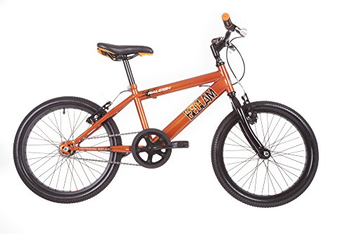 Raleigh Boy Bedlam Fahrrad, Orange, 27,9 cm