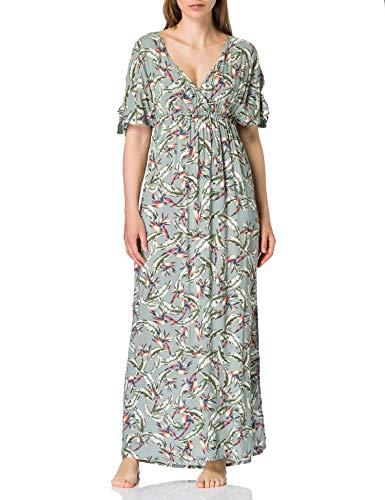 ESPRIT Bodywear Damen Panama Beach Acc Long Dress Überwurf für Schwimmbekleidung, 345, XL