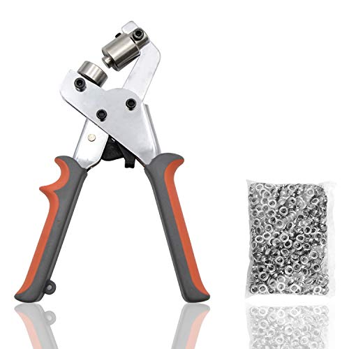 Magnetic Handheld Grommets 3/8 Inch 10mm Punching Machine| Plier for Eyelet Setting