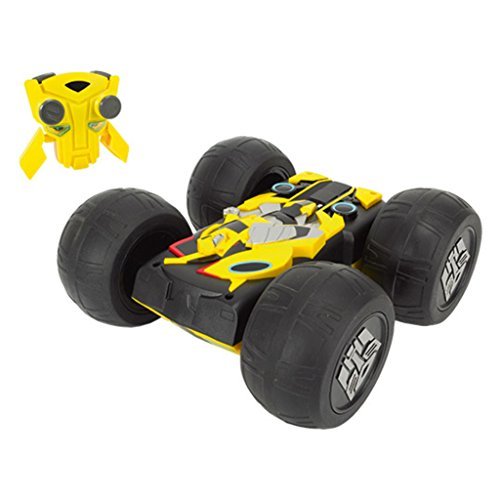 Dickie Toys - 203115000 - Radiocommandé - Voiture - Flip 'N' Race - Bumblebee RTR