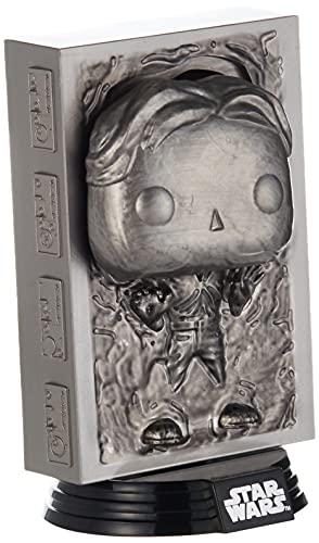 Funko- Pop Star Wars-Han in Carbonite ESB 40th Anni Figura Coleccionable, Multicolor (48328)
