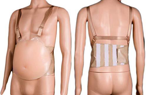 4~5 meses realista falso silicona bebé barriga toque real falso embarazo silicona vientre