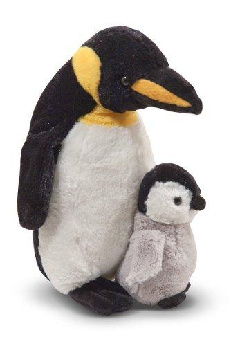 Melissa & Doug Animal en peluche Penguin with Baby