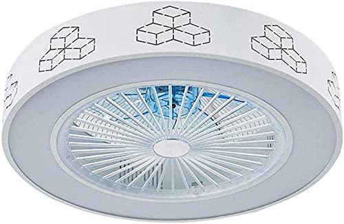 Lámpara de techo del ventilador de techo con control remoto Velocidad regulable del viento ajustable de tres resistentes de tiempo de tiempo de la iluminación del ventilador de techo de la habitación