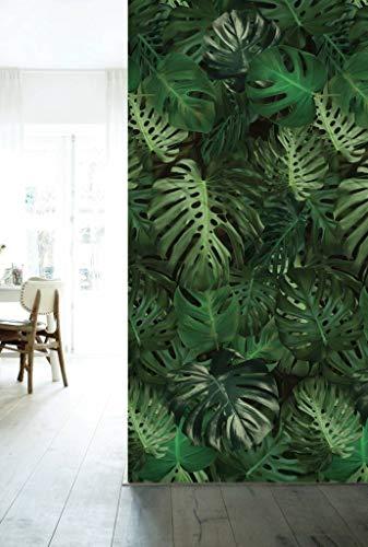 KEK Amsterdam Botanical, Monstera Leaves 97.4 x 280 (2 Sheets)