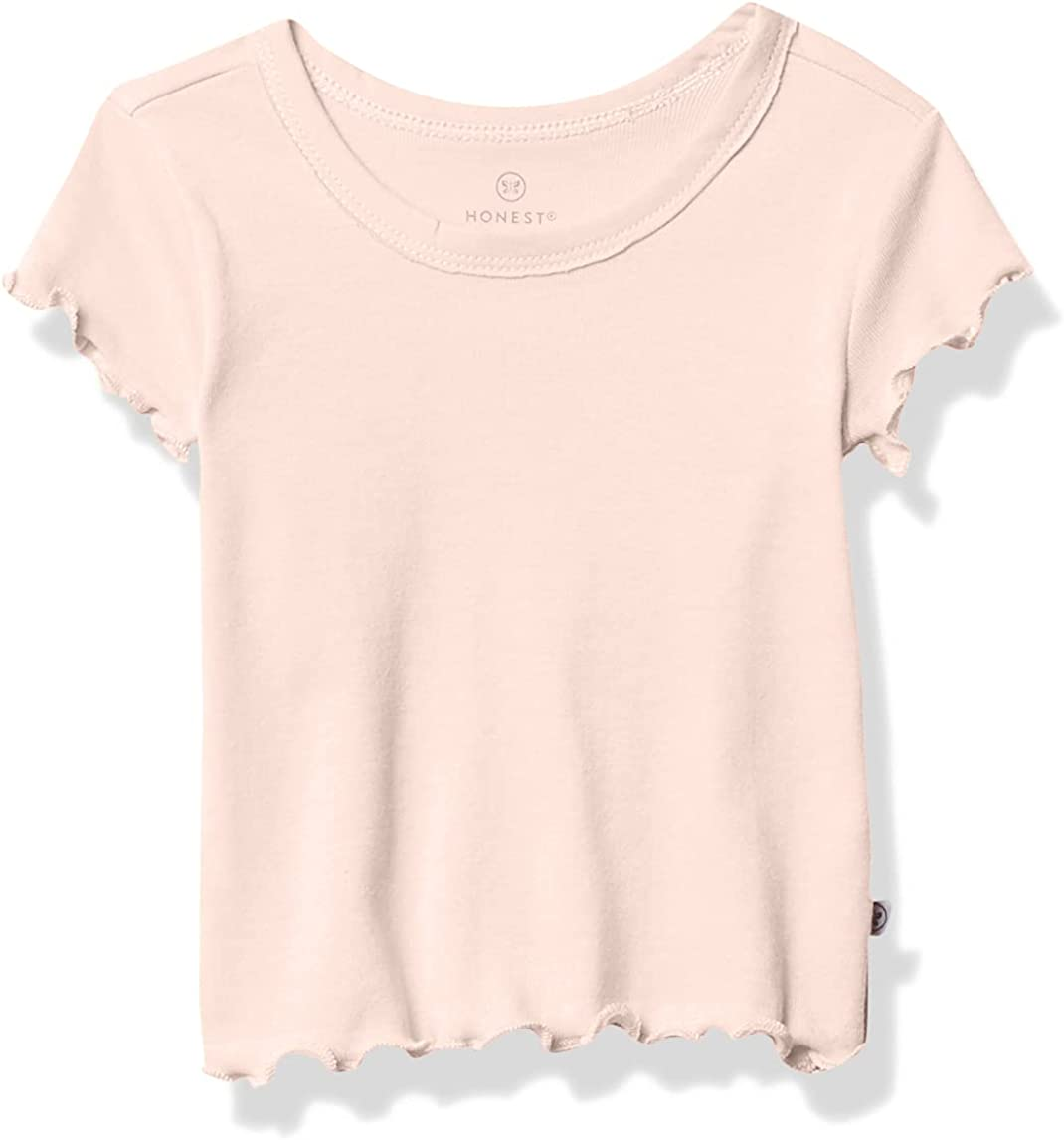 HonestBaby Baby Organic Cotton Rib Short Sleeve T-Shirt