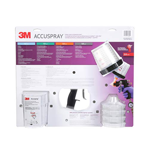 3M Accuspray ONE Spray Gun System with Standard PPS, 16580
