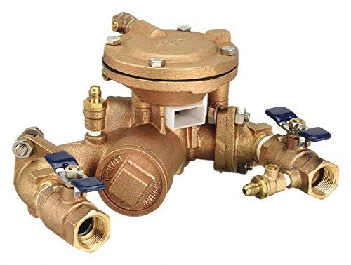Reduced Pressure Zone Backflow Preventer, Bronze, Watts 825 Series, FNPT Connection